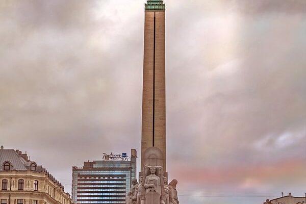 Milda Freedom Monument in Riga