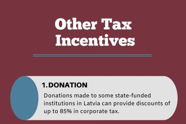 Tax Incentives for Latvia