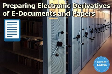 Preparing Electronic Derivatives of E-Documents and Papers