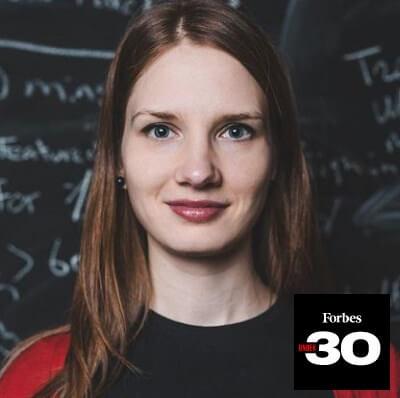 Alise Semjonova Forbes List Photo