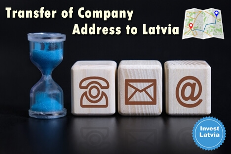 How to Transfer Your Company Address in Latvia?