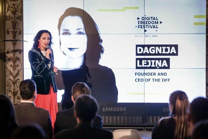 Dagnija Lejina Women Entrepreneur
