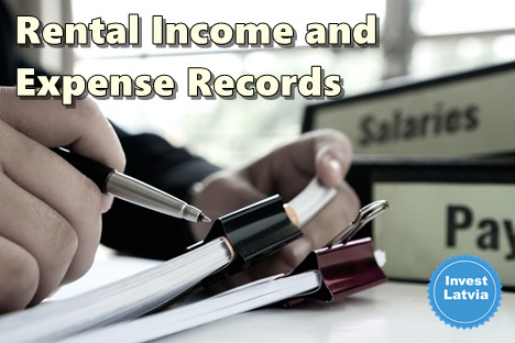 Rental Income and Expense Record