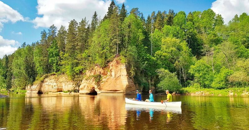 Latvia River Tour